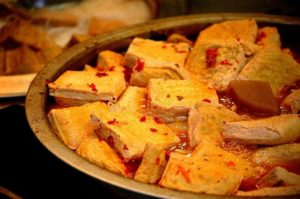 Tofu kross und lecker